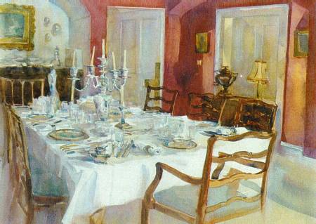 Picture of the Week: The dining Room, Eyam Hall