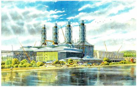 Picture of the Week: The construction of a power station, commissioned by Henry Boot plc